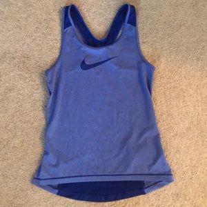 size: small blue/purple Nike athletic shirt